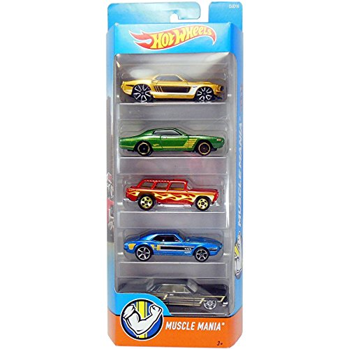 Preisvergleich Produktbild Hot Wheels,  2016 Muscle Mania 5-Pack by Hot Wheels
