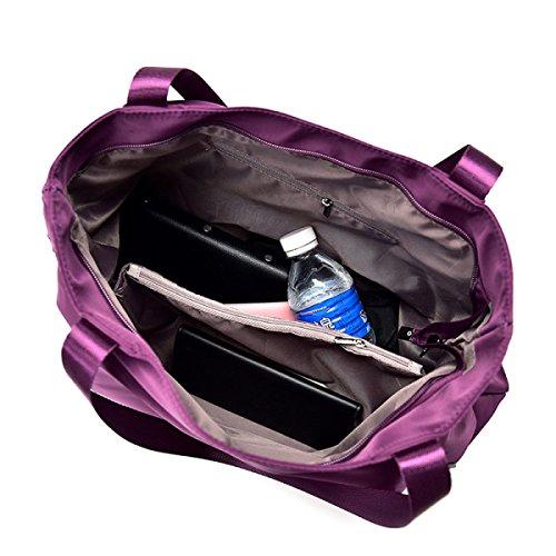 MYLL Trendy Frauen Leder Tasche Taschen Große Kapelle Schultertaschen,DarkBlue DarkBlue