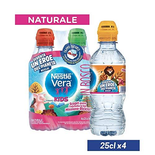 NESTLÉ VERA KIDS, Acqua Minerale Naturale Oligominerale 25cl x 4