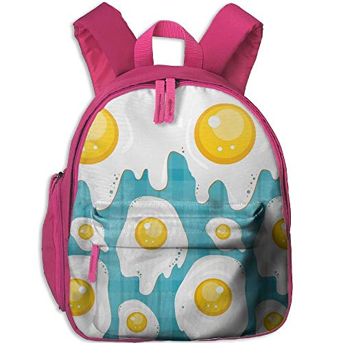 Fried Eggs Kid and Toddler Student Backpack School Bag Super Bookbag