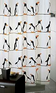Duschvorhang Pinguin