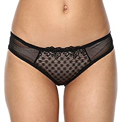 PrettySecrets Womens Bikini (102383_Black_S)