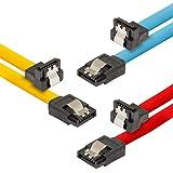Le câble de données SATA 3 Poppstar HDD / SSD vous permet un transfert de données ultra-rapide et sécurisé à tous les appareils ayant un port S-ATA I, II et III. Que ce soit les disques durs, lecteurs SSD, CD, DVD ou Blue Ray. Utilisez confortablemen...