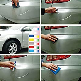 per auto Ventose per rimozione ammaccature 1 confezione Maso 5,5 cm Rosso)
