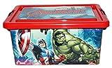 Marvel Avengers Behälter Dose Box Aufbewahrungsbox mit Deckel 7L Kinder Kinderzimmer
