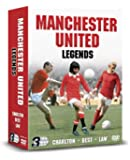 Manchester United Legends: Best, Charlton And Law [DVD]