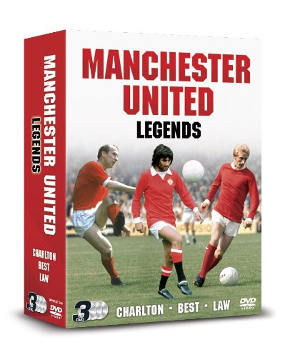 Manchester United Legends: Best, Charlton And Law [DVD] [UK Import]