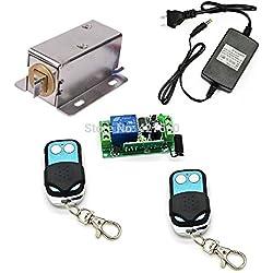 Control remoto electrónica gabinete candado cerradura cerrojo eléctrico para armarios, pistola gabinetes, cajón de dinero