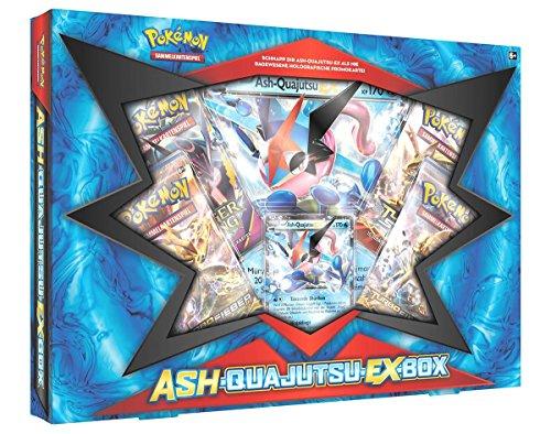 Pokemon 25889 - Company - PKM Ash-Quajutsu-EX Box, Sammelkartenspiel