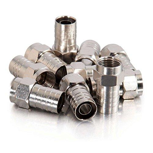 C2G 41087 Verbinder Silber - Aderverbinder (F,