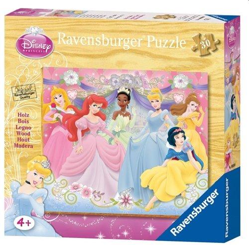 Ravensburger 03917 - Disney Princess: Ballabend - 30 Teile Holzpuzzle