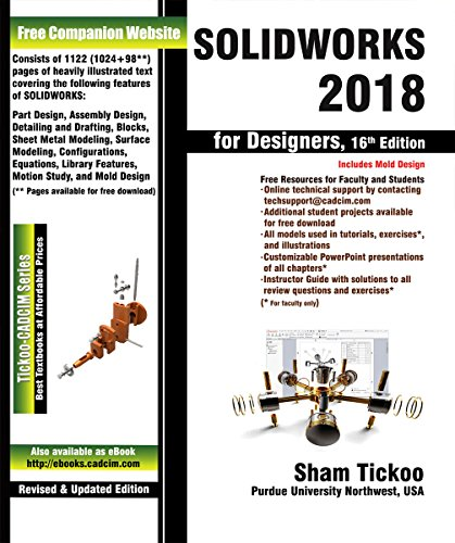 SOLIDWORKS 2018 for Designers, 16th Edition (English Edition)