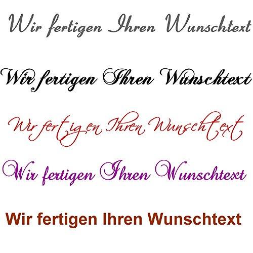 wunschtext120 Wandtattoos+Wandbilder