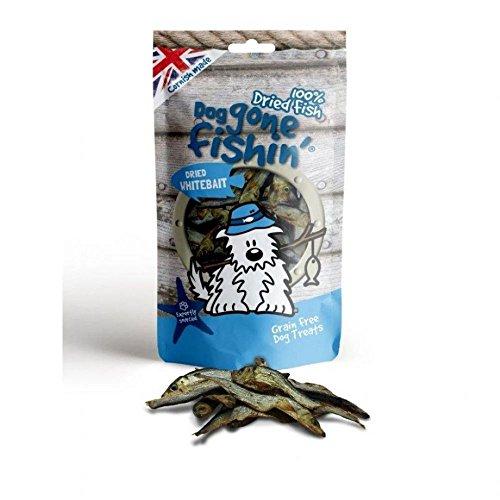 Dog Gone Fishin getrocknete Sardellen Hunde Snacks (60g) (kann variieren) -