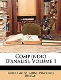 Compendio D'Analisi, Volume 1