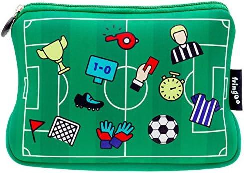 Trousse pour filles / garçons Fringoo® avec fermeture à à à glissière pour accessoires école de 22 x 15 cm. Large Football Field - Neoprene Pencil Case B075GXMWGC | Supérieurs Performances  bbf0d8
