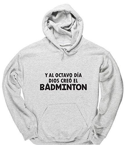 HippoWarehouse Y Al Octavo Día Dios Creó El Bádminton jersey sudadera con capucha suéter derportiva unisex