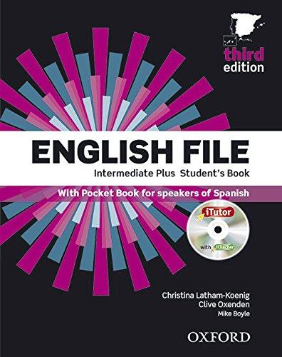 English File 3rd Edition Intermediate Plus. Student's