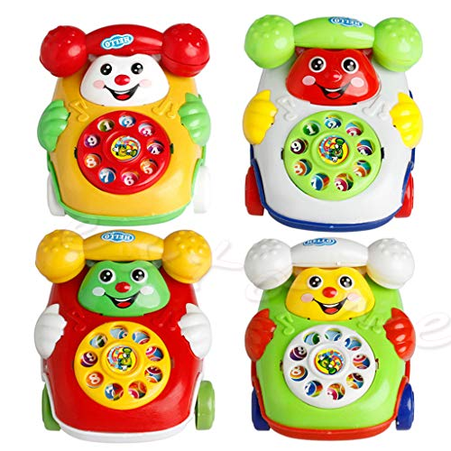Haven shop Baby-Telefon-Spielzeug, Babyspielzeug, Musik-Cartoon-Handy, Lern-Entwicklung, Kinder-Geschenk