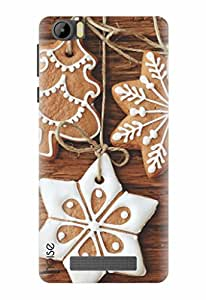 Noise Designer Printed Case / Cover for Intex Aqua Star 4G / Patterns & Ethnic / Christmas cookies Design