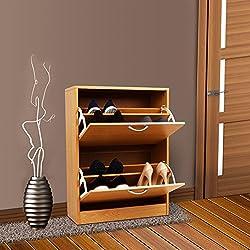 Generic YC-UK2-160920-63< 1& 6005* 1> t standbinet accesorio de armario Rack soporte de efecto de madera de zapatero organizador 2cajones de madera armario 2cajones w