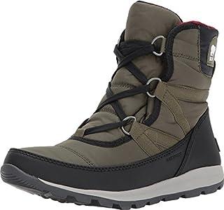 Sorel Women's Whitney Short Lace Snow Boot, Nori, Size 6.0 US/4 UK US (B01NCM6P5I) | Amazon price tracker / tracking, Amazon price history charts, Amazon price watches, Amazon price drop alerts