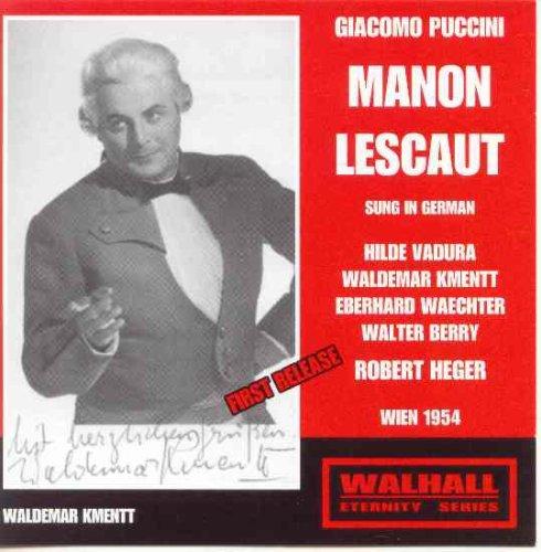Manon Lescaut (Heger) [Import USA]