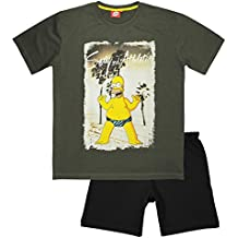 The Simpsons - Pijama - para Hombre Gris Gris Large