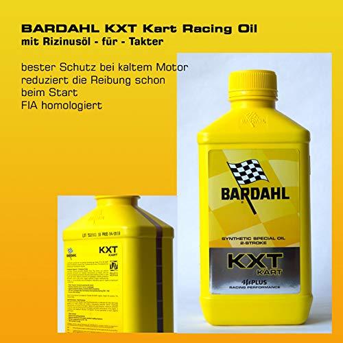 BARDAHL KXT Kart Oil für 2 Takter mit Rizinusöl - 1 Liter