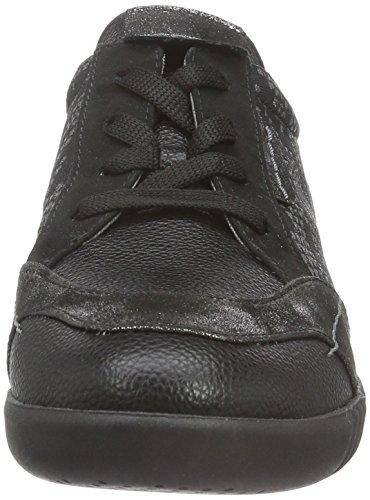 Rohde Prato, Baskets Basses Femme Noir - Noir (90)