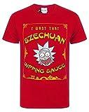 Rick and Morty Szechuan Dipping Sauce Men's T-Shirt (L)