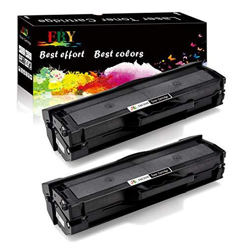 EBY 2 MLTD101S Toner Compatibile Samsung MLT-D101S, D101S, 101S Cartucce per ML-2160 ML-2165 ML-2162 ML-2165 ML-2168 SCX-3400 SCX-3405 SF-760 SCX-3405W ML-2168 SCX-3400FW SF-760P SCX-3400F SCX-3405F