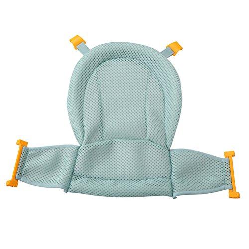 Babynice Support de Bain Siège de Bain Bébé Réglable Anti-dérapant Nouveau-né Bébé Support de Siège de Baignoire Nouveau-né Bébé 0-3 ans (0-3 ans, Vert)