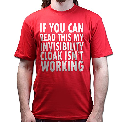 If You Can Read This My Invisibility Cloak Isn't Working Harry Potter T-shirt Rot