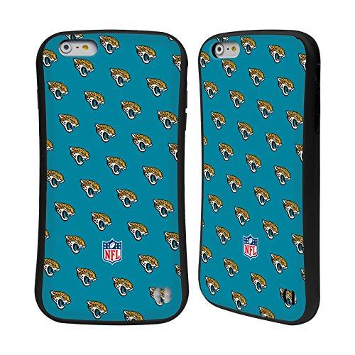 Ufficiale NFL Marmo 2017/18 Jacksonville Jaguars Case Ibrida per Apple iPhone 5 / 5s / SE Pattern