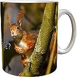 Kaffeetasse/Kaffeebecher / Eichhörnchen/Geschenktasse
