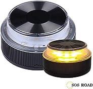 NK SOS Road- Báliza luz de Emergencia | Luz de Emergencia Autónoma | Luz LED | Señal V16 de Preseñalización de