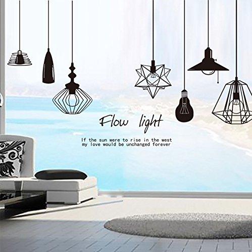 Lifme Wandaufkleber Abnehmbar Wohnzimmer Sofa Tv Hintergrund Dekoration Schlafzimmer Nacht Hintergrund Dekoration Pvc