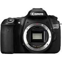 Canon EOS 60D SLR-Digitalkamera (18 Megapixel, 7,7 cm (3 Zoll) Live-View, Full-HD Movie) Gehäuse schwarz