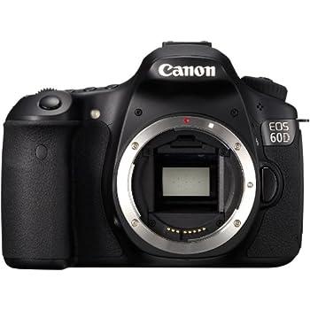Canon EOS 60D Appareil photo numérique Reflex 18 Mpix Boîtier nu Noir