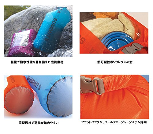 Sea To Summit Packsack Ultra Sil™ View Dry Sack - Wasserdichter Staubeutel mit Sichtfenster 20 Liter
