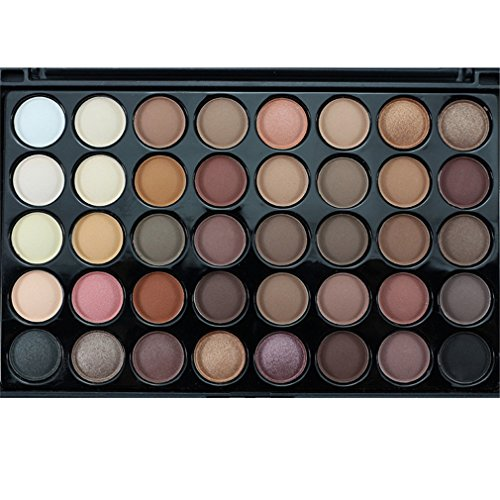 HENGSONG 40 Colors Cosmetic Eyeshadow Palette Makeup Set (1#)
