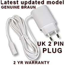 Braun Power Supply CHARGER for Epilator & Lady Shave. 2 YEAR GUARANTEE. Legs, Body & Face. SEE NEXT PAGE FOR ALL MODELS THIS CHARGER FITS. Epilators SILK EPIL 5, SILK EPIL 7, SILK EPIL XPRESSIVE. SE 5180, 5185, 5270 (Type 5340) , 5280, 5380, 5580, 5780, 7180, 7181, 7185, 7280, 7281, 7285, 7380, 7381, 7385, 7480, 7481, 7580, 7680, 7681, 7781, 7771, 7871, 7791, 7891, 7921, 7931, 7951, 7961. Type nos. 5340, 5375, 5376, 5377. SILK & SOFT BODY SHAVE - LS5500, 5560 RC Type 5328