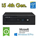 UtraSlim PC HP EliteDesk 800 G1 USDT Core i5-4570s 2.9GHz 8Gb Ram 320Gb DVD Windows 10 Professional F3F69EC - MAR (Ricondizionato Certificato)
