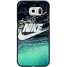 Samsung Galaxy S6 móvil Logo de mike funda/carcasa, deportes Marca mIKE funda carcasa dura mike Just Do It Teléfono de buzón