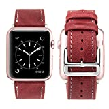 Best Hermes Amici Band - Cinturino Apple Watch 42mm Pelle, iBazal Cinturini Apple Review