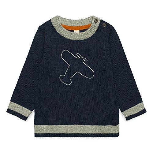 ESPRIT KIDS Baby-Jungen Pullover RM1803209 Blau (Deep Indigo 491), 74
