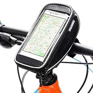 Guiador impermeável da bicicleta do meteoro - saco da bicicleta da estrada do MTB da montanha de BMX com a tela de toque sensível - quadro do saco do ciclismo - saco da sela - com tira reflexiva (FOTON)