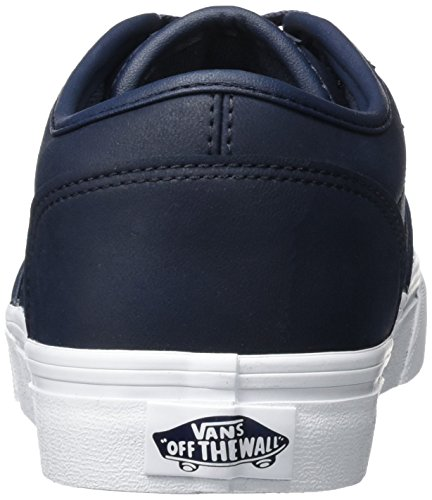 Vans MN Atwood, Sneakers Basses Homme Bleu (Leather)