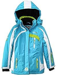 Geographical Norway Wanda - Chaqueta de esquí para niño/niña, color azul, talla 10 años